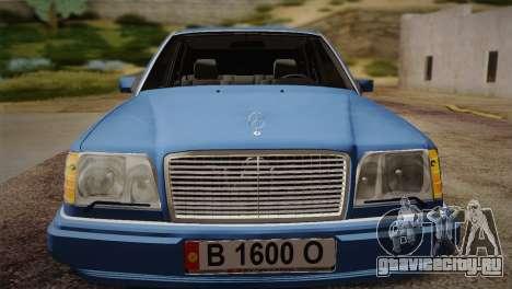 Mercedes-Benz E320 W124 для GTA San Andreas вид справа