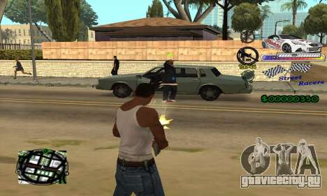 HUD Races для GTA San Andreas третий скриншот