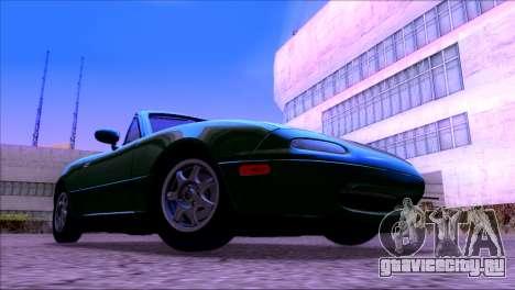 ENBSeries by egor585 V4 для GTA San Andreas четвёртый скриншот