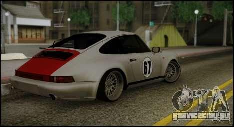 Porsche 911 для GTA San Andreas вид сзади слева