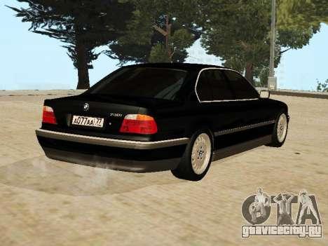 BMW 730 E38 для GTA San Andreas вид слева