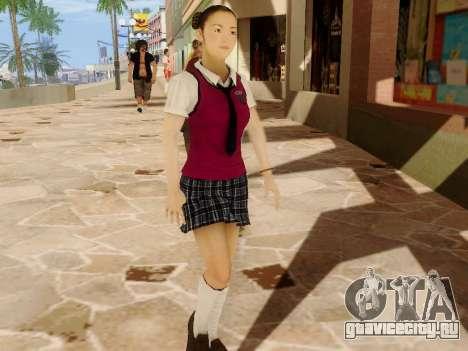 Hanako для GTA San Andreas третий скриншот