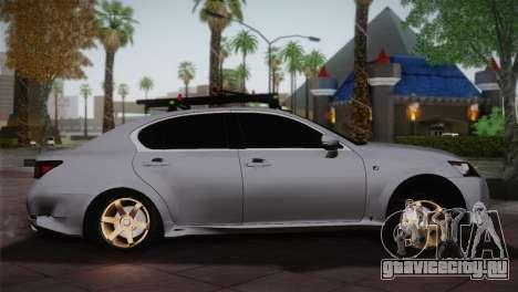 Lexus GS250 F для GTA San Andreas вид слева
