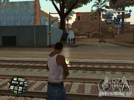C-HUD Tawer для GTA San Andreas третий скриншот