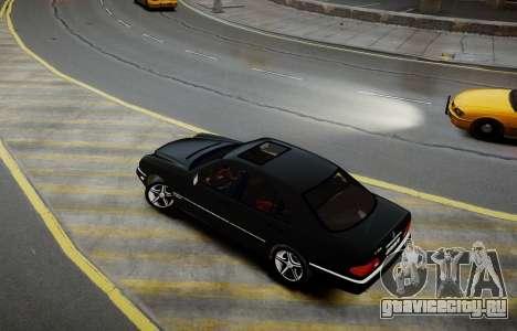 Mercedes-Benz E280 Beta для GTA 4 вид сзади слева