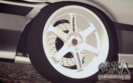 BMW M3 E36 Angle Killer для GTA San Andreas вид сзади слева