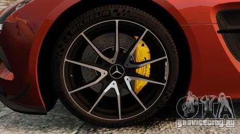 Mercedes-Benz SLS 2014 AMG Black Series для GTA 4 вид сзади