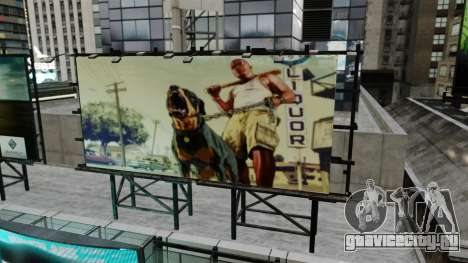 Билборды из GTA 5 для GTA 4 третий скриншот