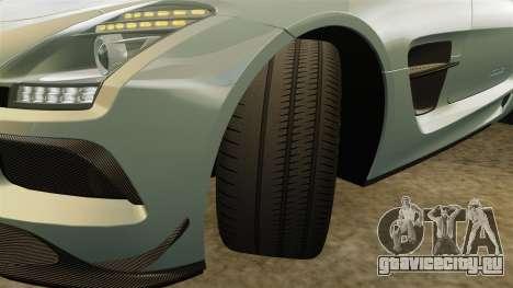 Mercedes-Benz SLS 2014 AMG Black Series для GTA 4 вид сверху