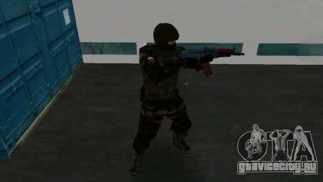 Боец Альфа Антитеррор для GTA Vice City пятый скриншот