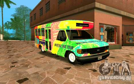 Ford E350 Shuttle Bus для GTA San Andreas