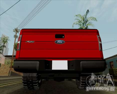 Ford F-150 для GTA San Andreas вид справа