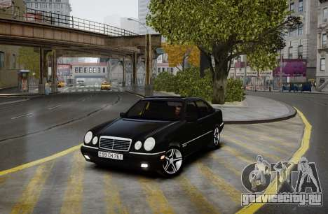 Mercedes-Benz E280 Beta для GTA 4