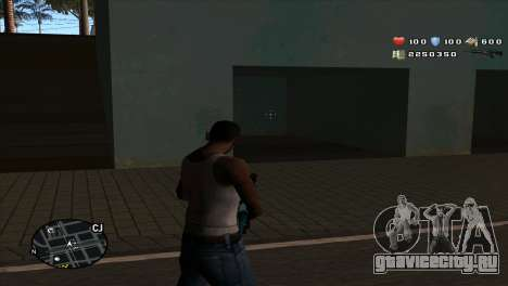 C-Hud by Stan Gomez для GTA San Andreas второй скриншот