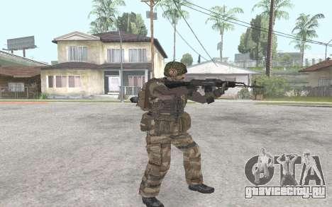 АК-101 для GTA San Andreas второй скриншот