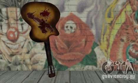 Гитара для GTA San Andreas второй скриншот