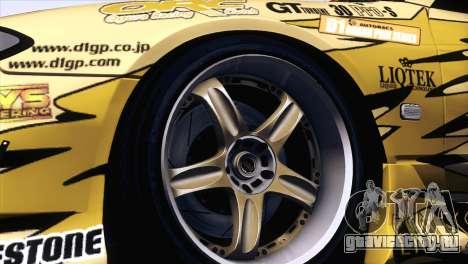 Nissan Silvia S15 TopSecret для GTA San Andreas вид справа
