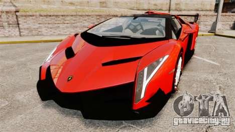 Lamborghini Veneno Roadster LP750-4 2014 для GTA 4