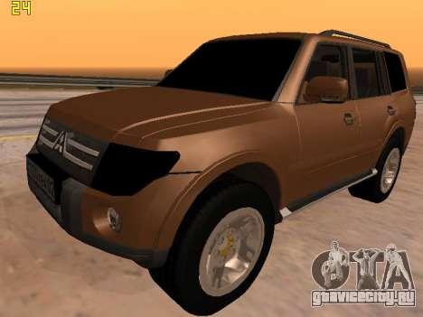 Mitsubishi Pajero 2010 для GTA San Andreas