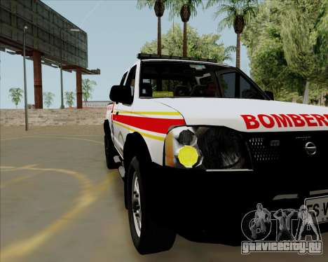 Nissan Terrano для GTA San Andreas вид справа