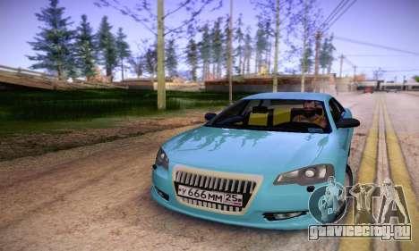 Volga Siber 2.5 AT Restyling для GTA San Andreas вид сзади
