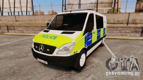 Mercedes-Benz Sprinter 211 CDI Police [ELS] для GTA 4