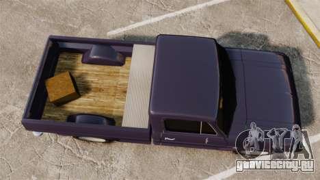 Chevrolet C10 1974 для GTA 4 вид сзади слева