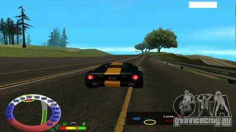 Ограничение скорости для SAMP для GTA San Andreas третий скриншот