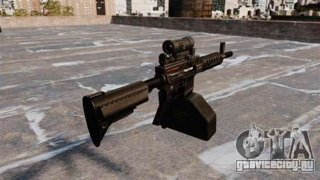Ручной пулемёт Ares Shrike 5.56 для GTA 4 второй скриншот