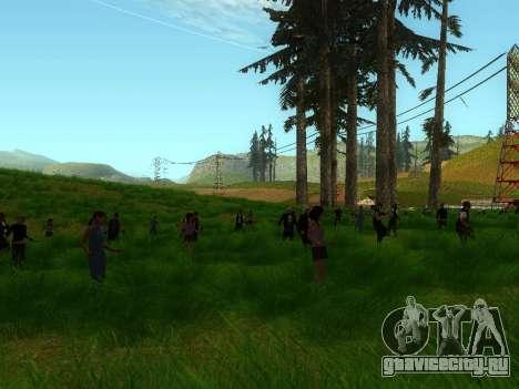 Biker Party 1.0 для GTA San Andreas второй скриншот