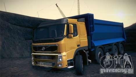Volvo FM12 8X4 Dumper для GTA San Andreas