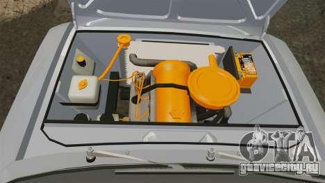 ВАЗ-2101 Жигули USSR для GTA 4 вид изнутри