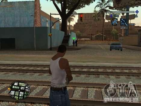 C-HUD Tawer для GTA San Andreas второй скриншот