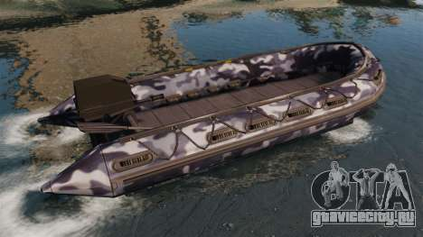 US Navy SEAL Zodiac для GTA 4 вид слева