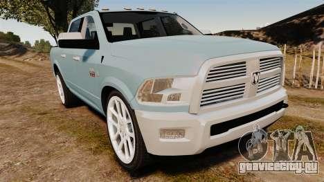 Dodge Ram 3500 Heavy Duty для GTA 4