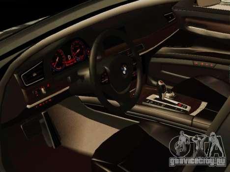 BMW 730Li для GTA San Andreas вид сзади слева