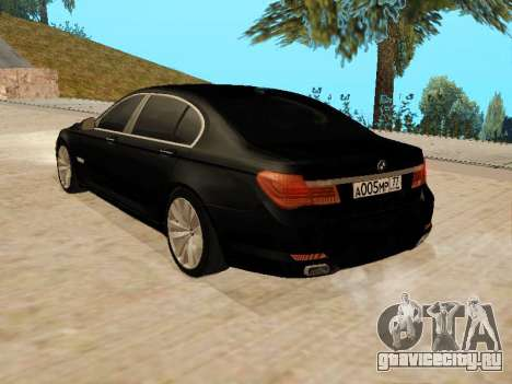 BMW 730Li для GTA San Andreas вид слева