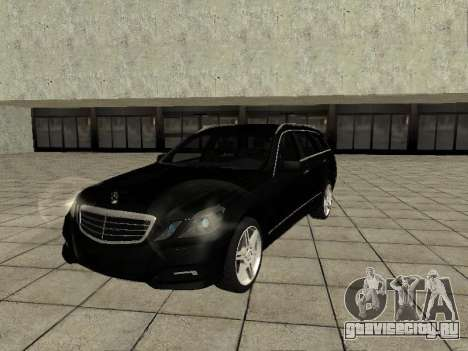 Mercedes-Benz w212 E-class Estate для GTA San Andreas