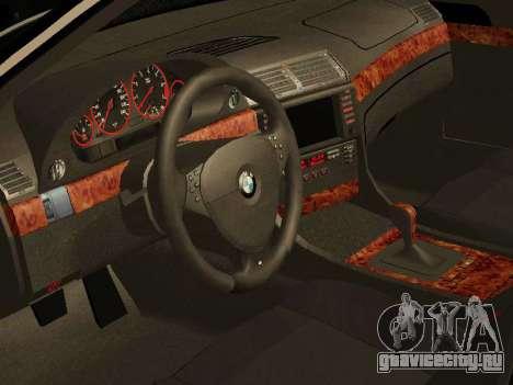 BMW 730 E38 для GTA San Andreas вид справа