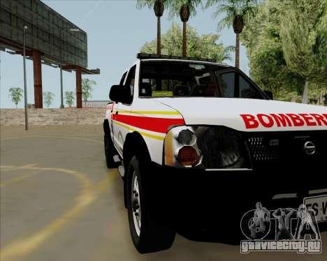 Nissan Terrano для GTA San Andreas вид сзади слева