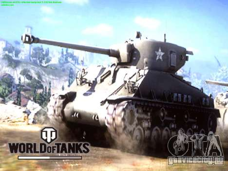 Загрузочный экран World of Tanks для GTA San Andreas второй скриншот