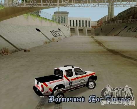 Nissan Terrano для GTA San Andreas колёса