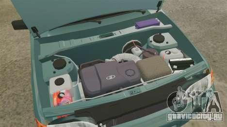ВАЗ-2114 Самара-2 для GTA 4 вид изнутри