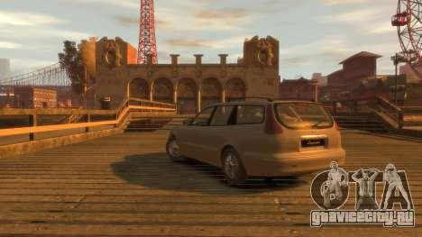 Daewoo Leganza Wagon для GTA 4 вид слева