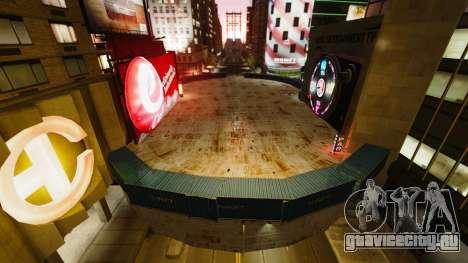 Открытая арена для боёв автотранспорта для GTA 4 третий скриншот