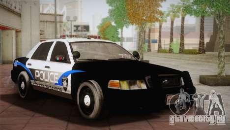 Ford Crown Victoria Police Interceptor 2009 для GTA San Andreas