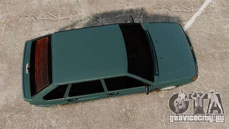 ВАЗ-2114 Самара-2 для GTA 4 вид справа