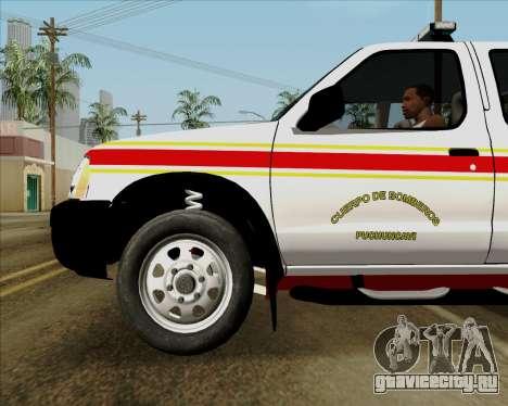 Nissan Terrano для GTA San Andreas двигатель
