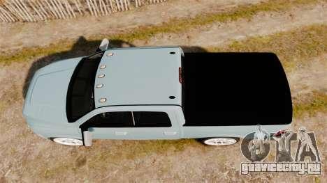 Dodge Ram 3500 Heavy Duty для GTA 4 вид справа