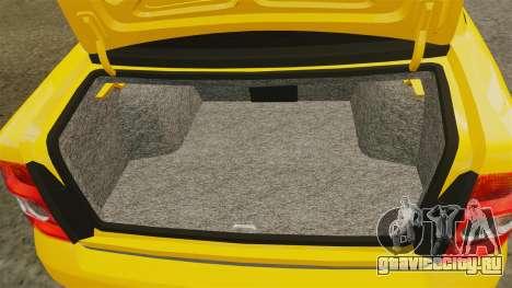 ВАЗ-2170 Лада Приора для GTA 4 вид сбоку